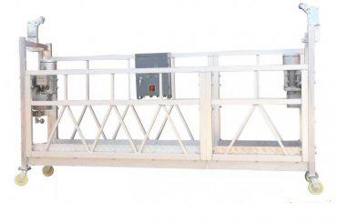 380v / 220v / 415v բարձր արդյունավետության պատուհան մաքրող հարթակ zlp800 մեկ փուլով